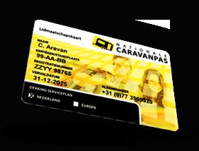 Nationale Caravanpas | Pechhulp voor caravans
